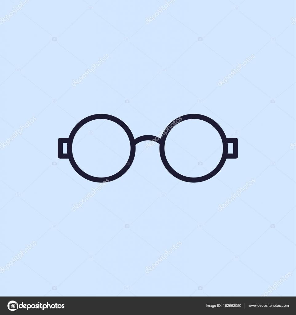 d52847329065b1 Icône de la ligne de lunettes de protection. Illustration vectorielle —  Vecteur par Hsynff