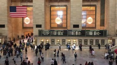 Grand Central Station, New York City, Crowds