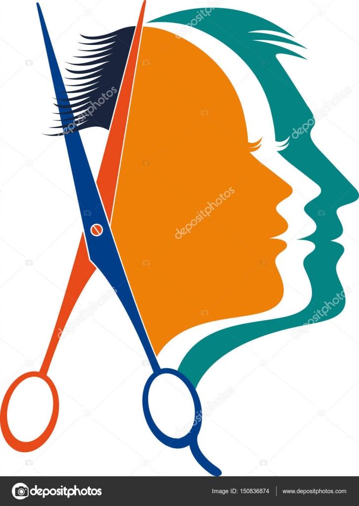 Logo unisex esteticista — Archivo Imágenes Vectoriales ...