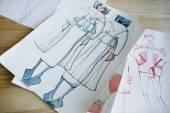 Fotografia fashion sketch