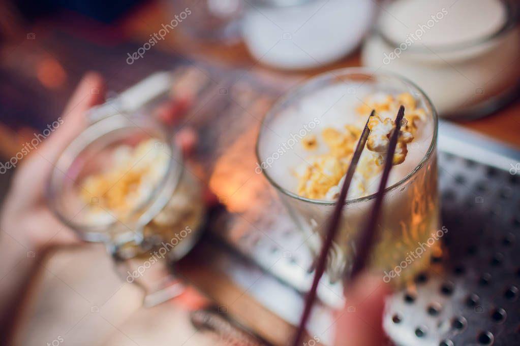 Butter Scotch Caramel Cream Popcorn