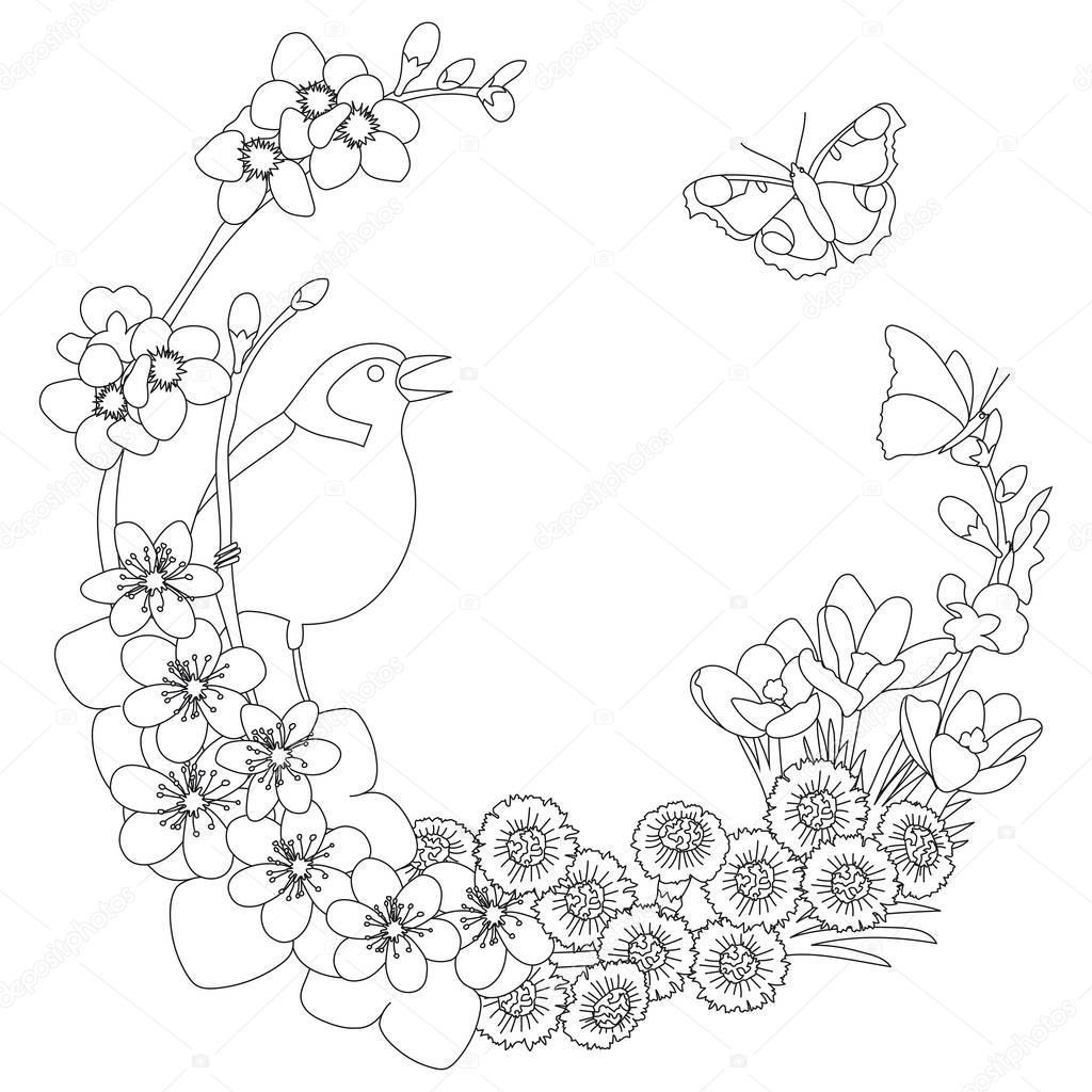 Schwere Ausmalbilder Blumen : Fantastisch Erweiterte Malvorlagen Blumen Zeitgen Ssisch Framing