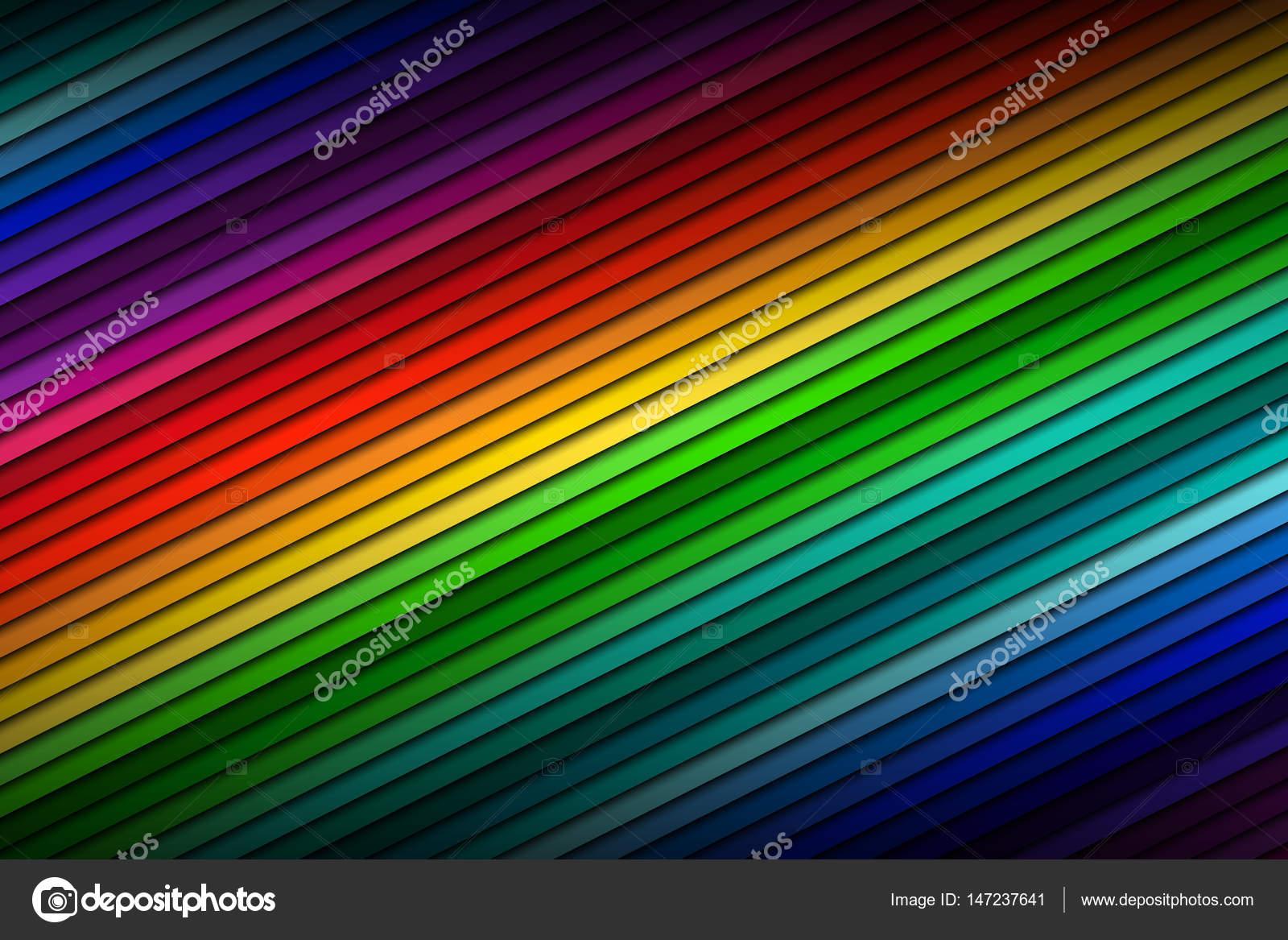 Abstrakte Farbe Paletten Hintergrund, Farbe Dünn Diagonale Linien U2014  Stockvektor