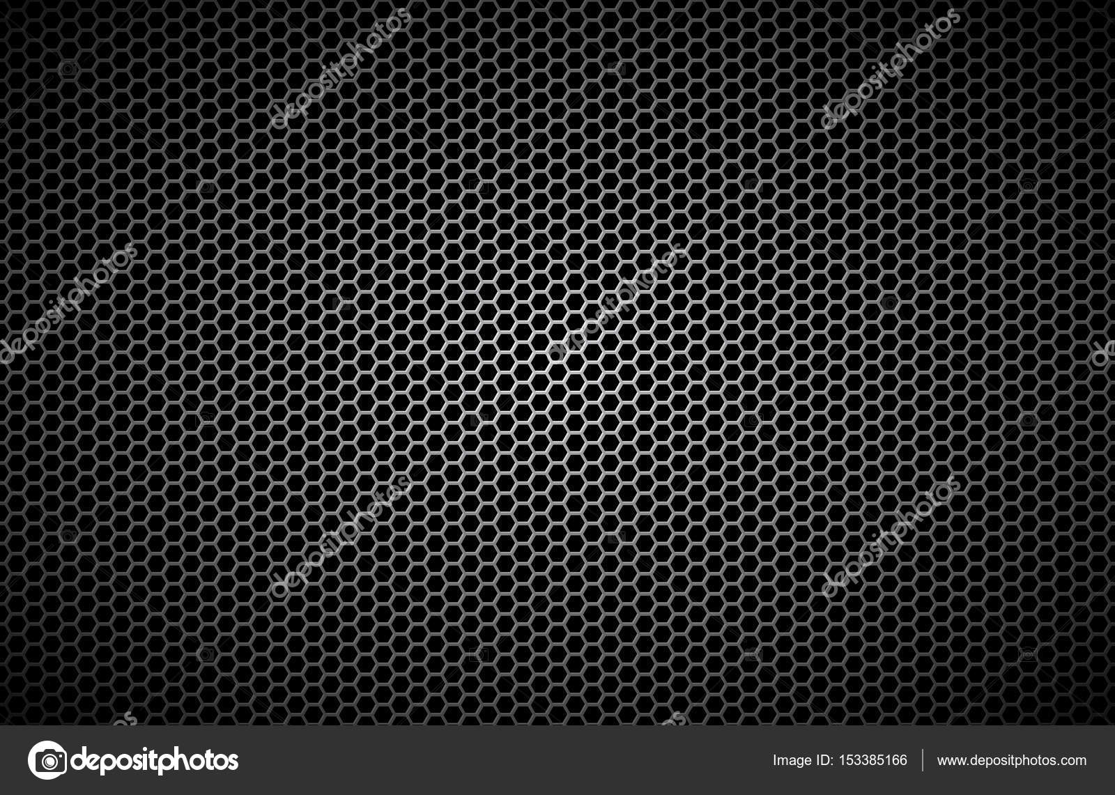 Fond De Polygones Geometriques Abstrait Papier Peint Metallise Noir