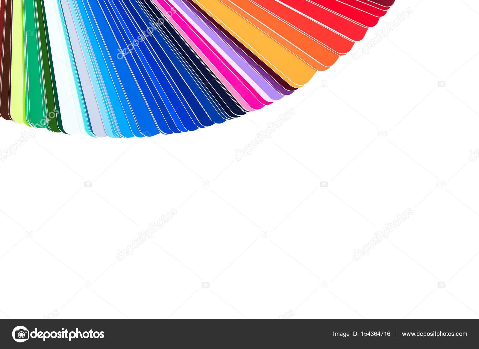 Paleta de color cat logo color gu a de muestras de for Muestras de colores de pintura