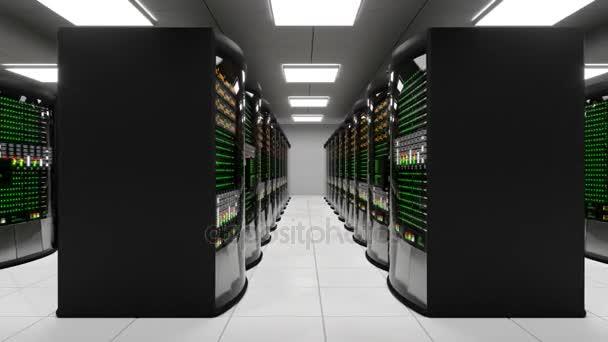 Moderní pracovní prostor serveru s Rozvaděčové servery