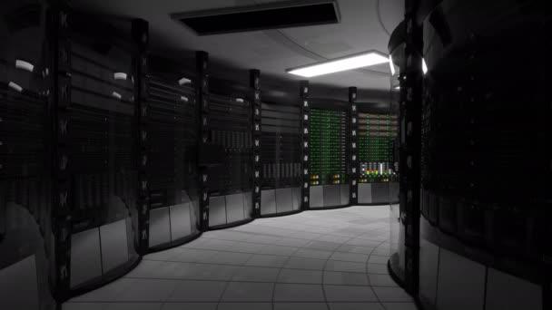 Schalten Sie im Serverraum nach blackout