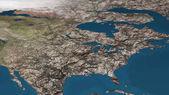 Sterbenden Erde globale Erwärmung starke Verschmutzung betroffen und getrocknet Nein