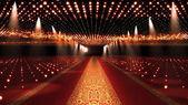 Vörös szőnyegen fesztivál Glamour jelenet