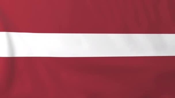 bandeira da letónia vídeo de stock tom griger 134710794