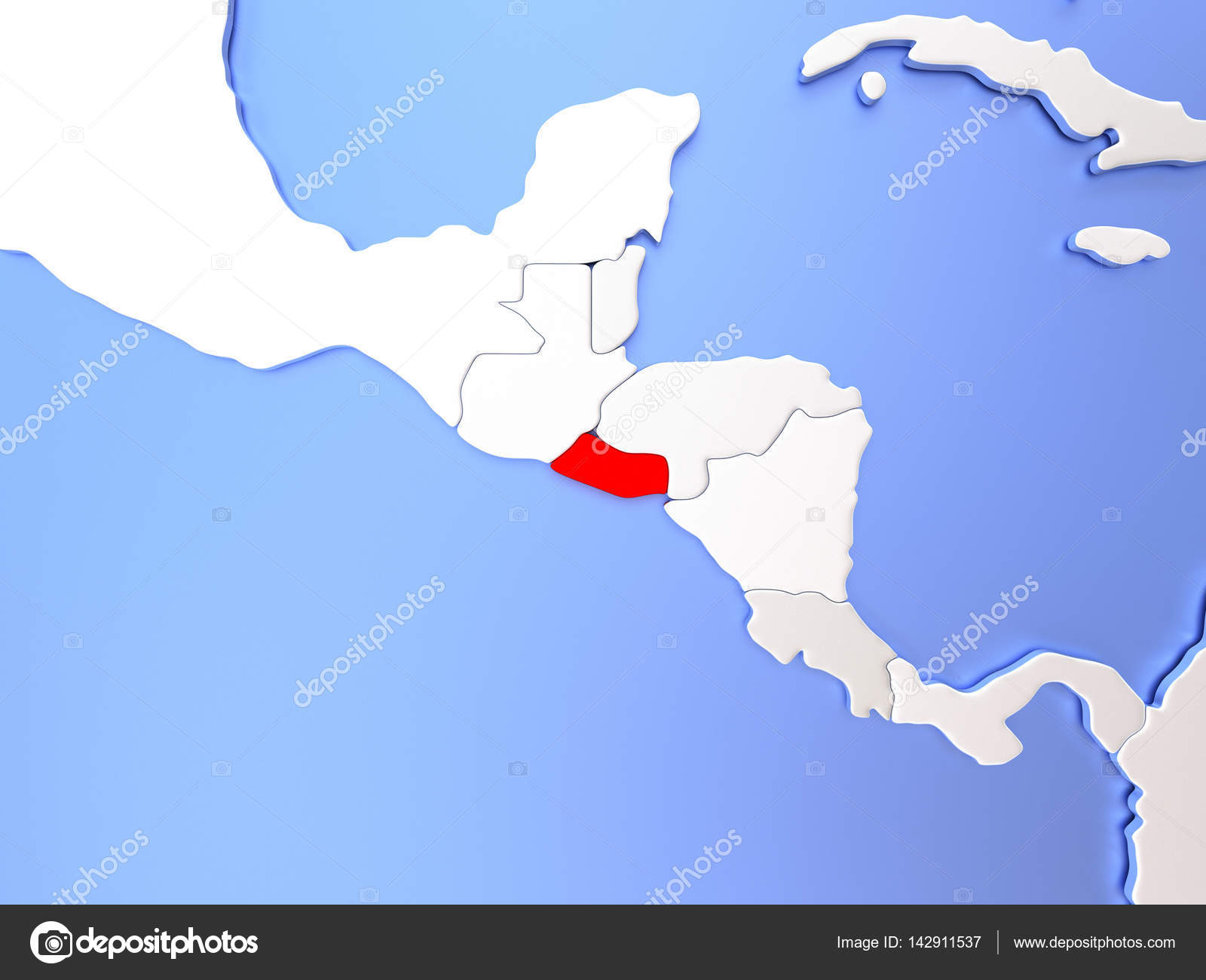 El Salvador in red on map — Stock Photo © tom.griger #142911537 on uruguay map, bage map, lima map, brazil map, nicaragua map, kusti map, the landing map, buenos aires map, costa rica map, taiohae map, sert map, mexico map, honduras map, peruana map, central america map, santiago map, passo fundo map, caracas map, south america map, world map,