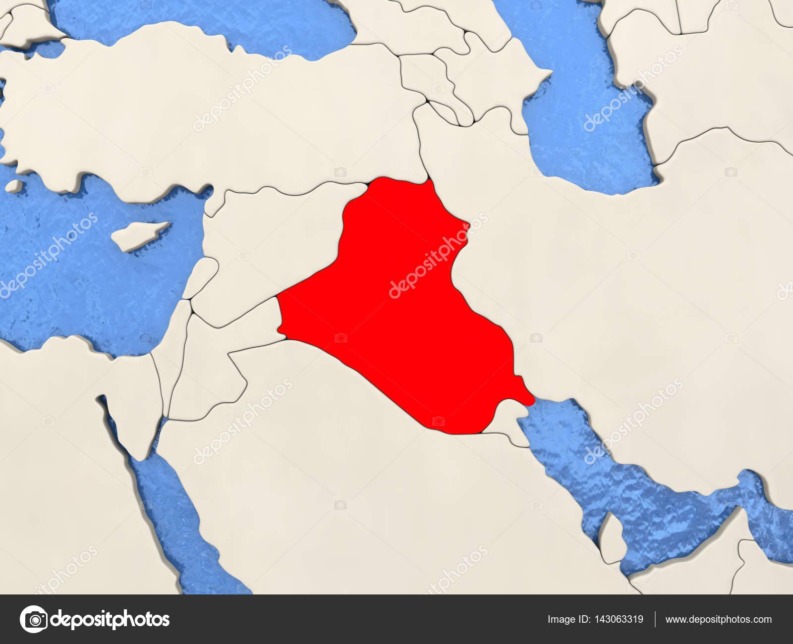 Irak mapa fotos de stock tomiger 143063319 irak mapa fotos de stock gumiabroncs Image collections