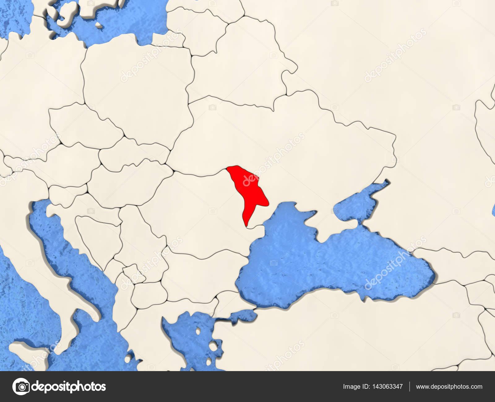 Moldawien Karte.Moldawien Auf Karte Stockfoto Tom Griger 143063347