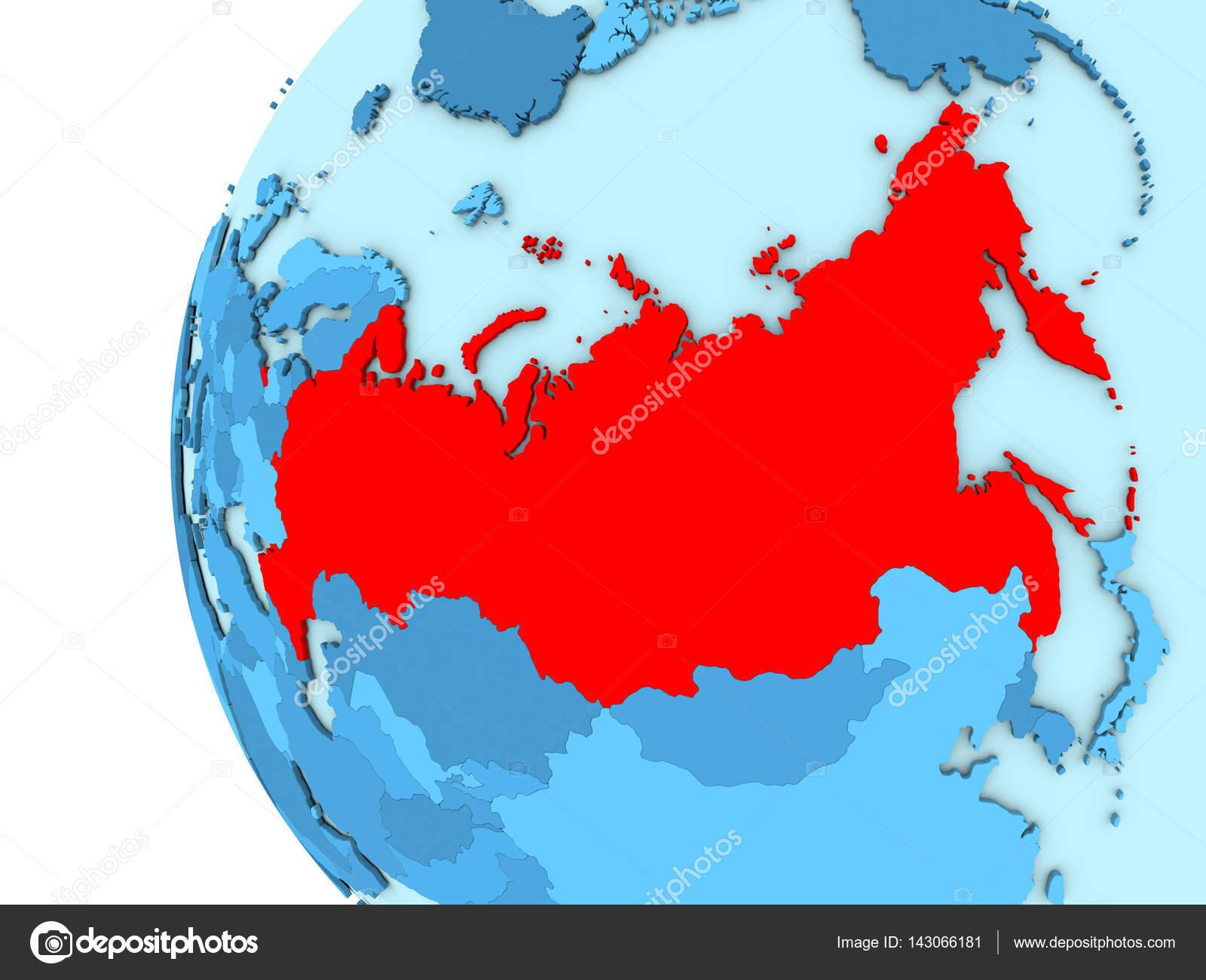 Rusia en globo azul fotos de stock tomiger 143066181 rusia en globo azul fotos de stock gumiabroncs Choice Image