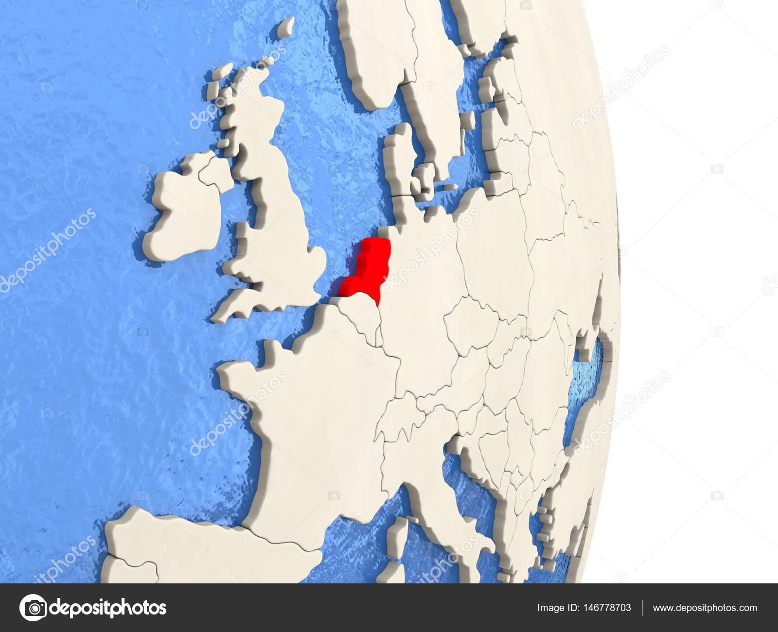 Niederlande Karte Welt.Niederlande Nach Vorbild Der Politischen Welt Stockfoto