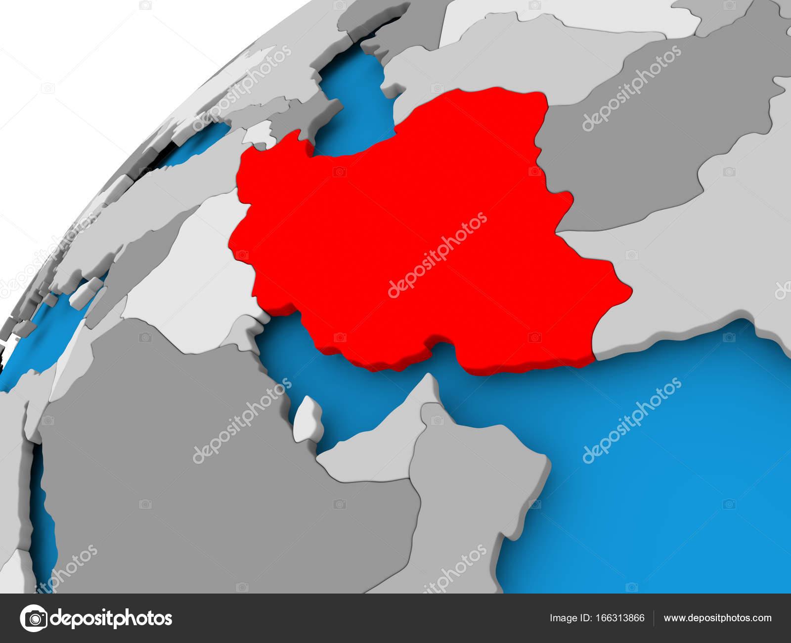 Mapa de irn en rojo foto de stock tomiger 166313866 mapa de irn en rojo foto de stock gumiabroncs Gallery
