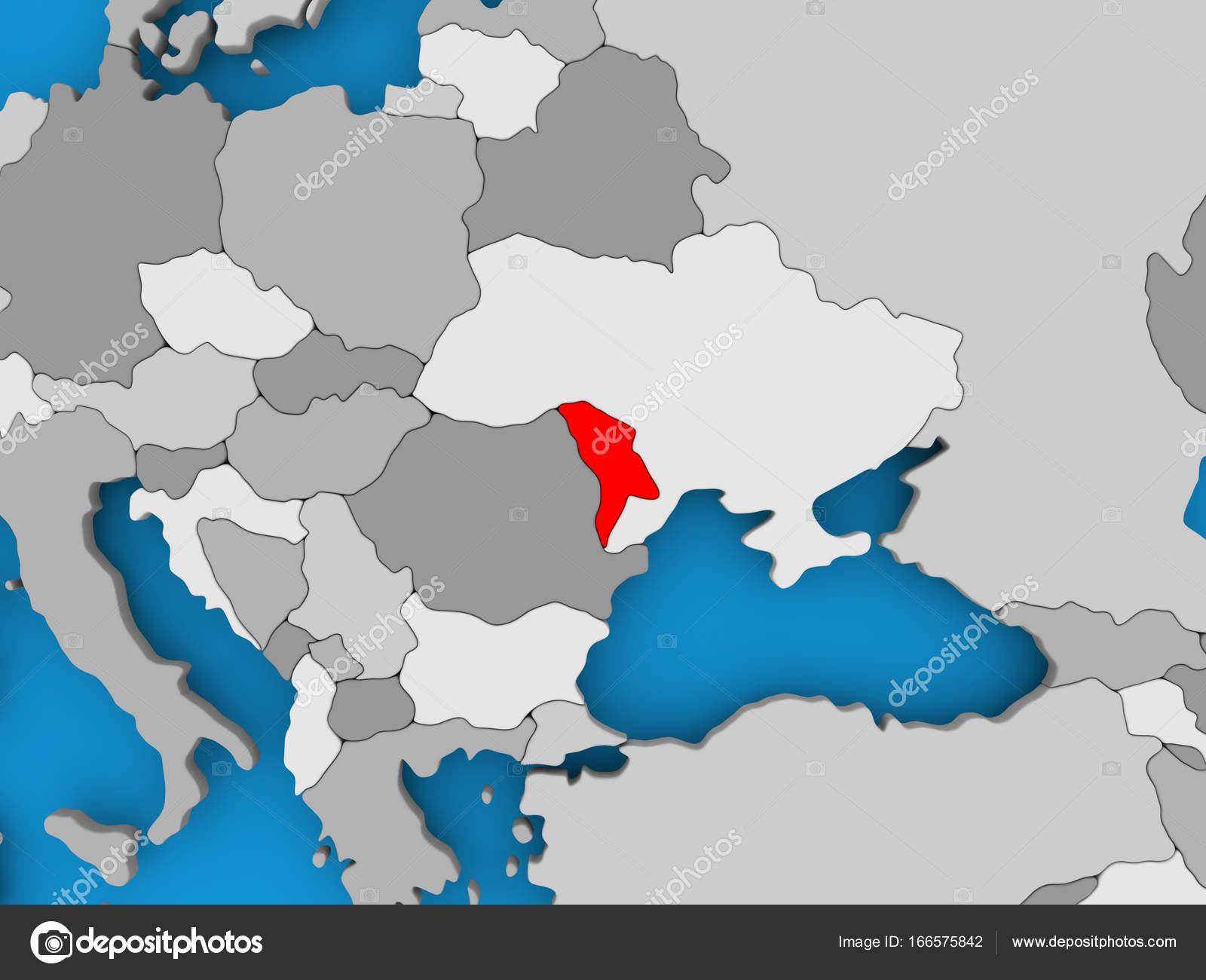 Moldawien Karte.Karte Von Moldawien Stockfoto Tom Griger 166575842