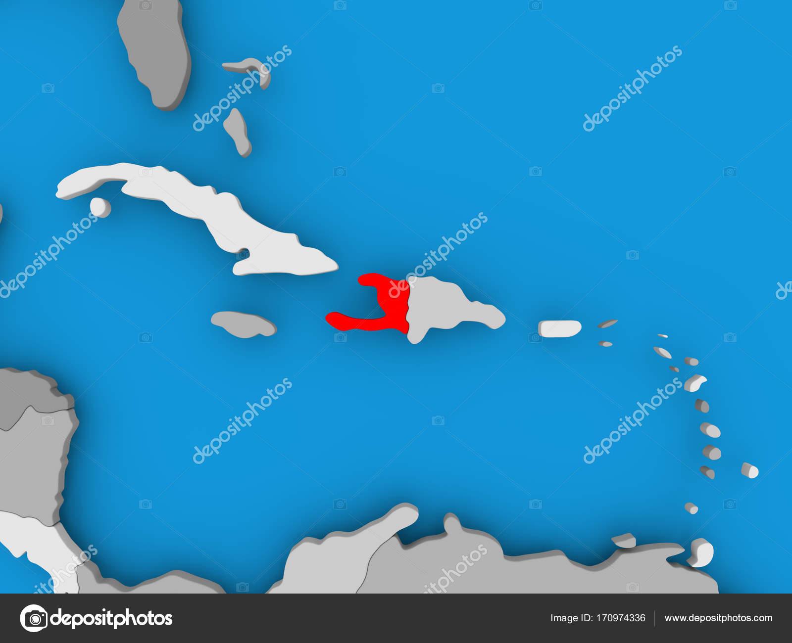 Haiti Karte.Karte Von Haiti Stockfoto Tom Griger 170974336