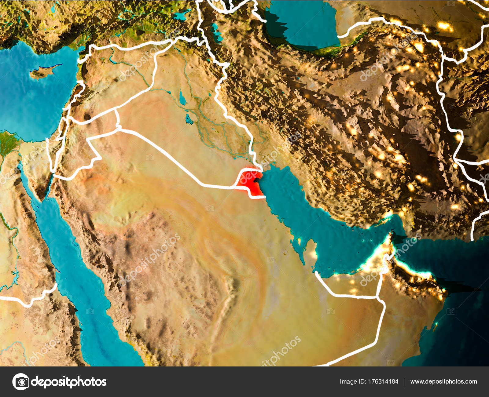 Map of Kuwait on Earth — Stock Photo © tom.griger #176314184 Kuwait On Map on algiers on map, cyprus on map, azerbaijan on map, iran on map, malaysia on map, mediterranean sea on map, qatar on map, iraq on map, morocco on map, doha on map, arabian peninsula on map, kyrgyzstan on map, syria map, lebanon on map, bahrain on map, afghanistan on map, israel on map, australia on map, yemen on map, kuwait map google,