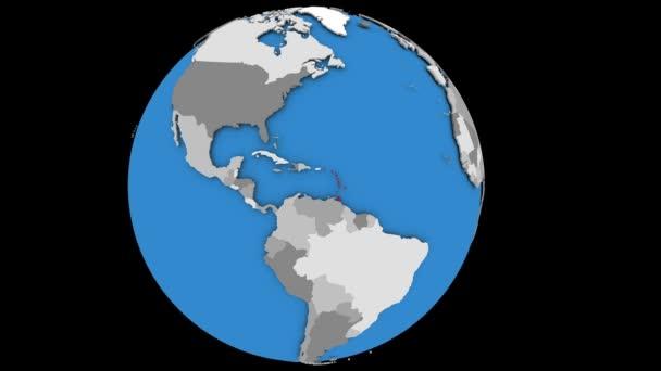 Karibik na zeměkouli