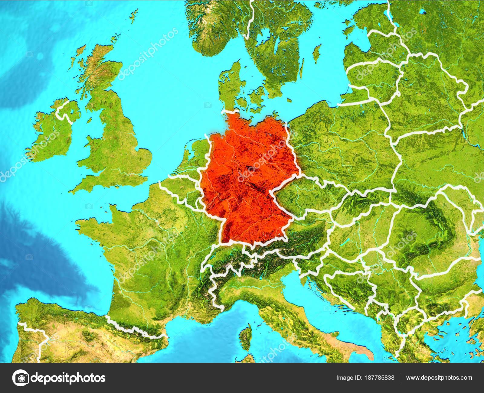 map von deutschland — Stockfoto © tom.griger #187785838