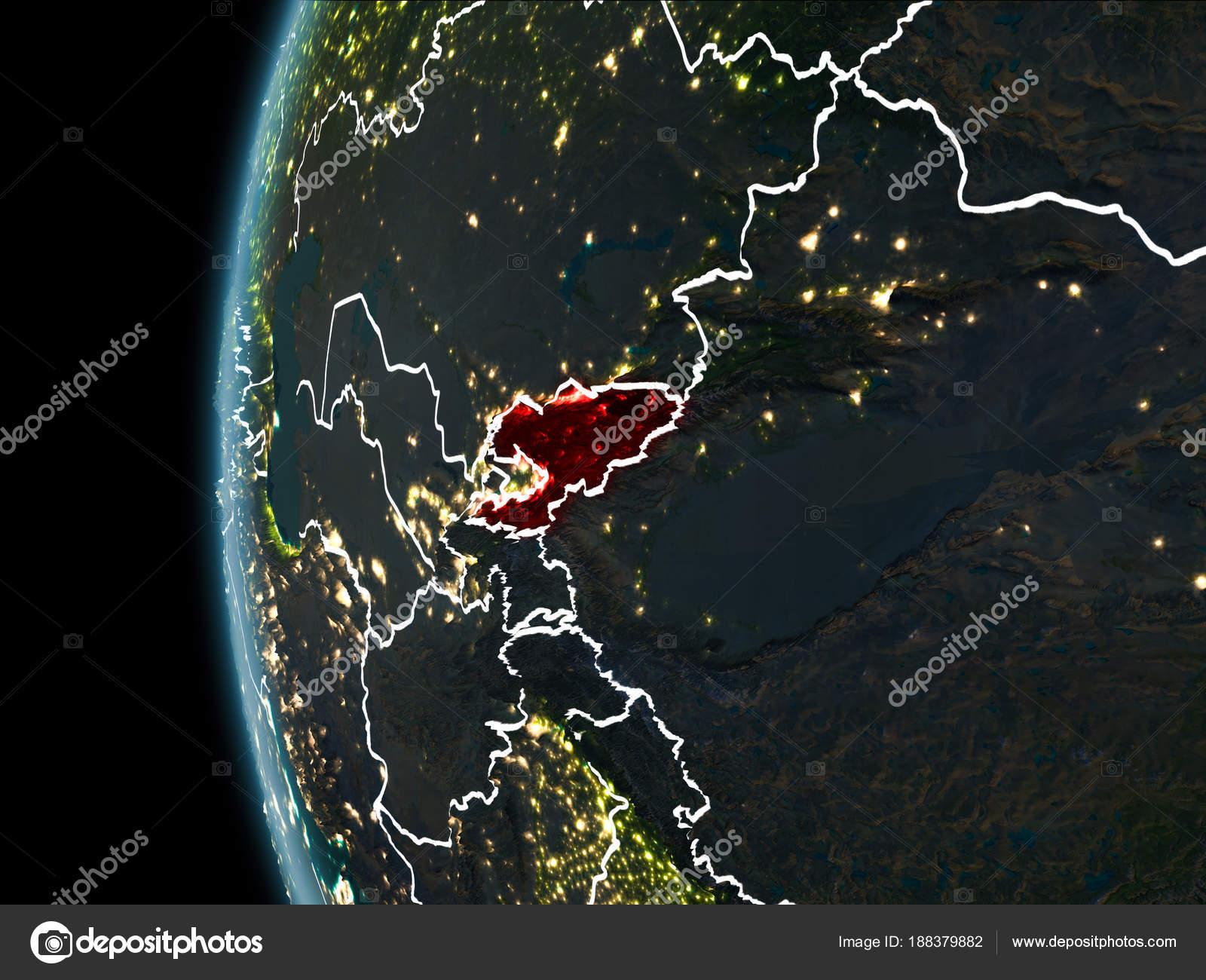 задержали фото киргизии из космоса какому поводу была
