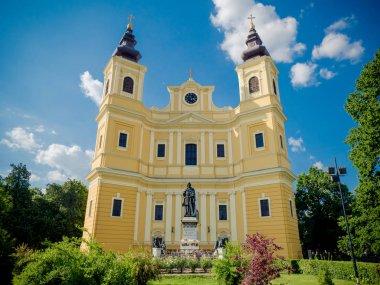 Oradea Romano-Catholic Cathedral in Romania