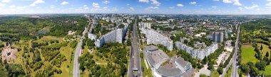 Panoramic view of Chisinau at the City Gates