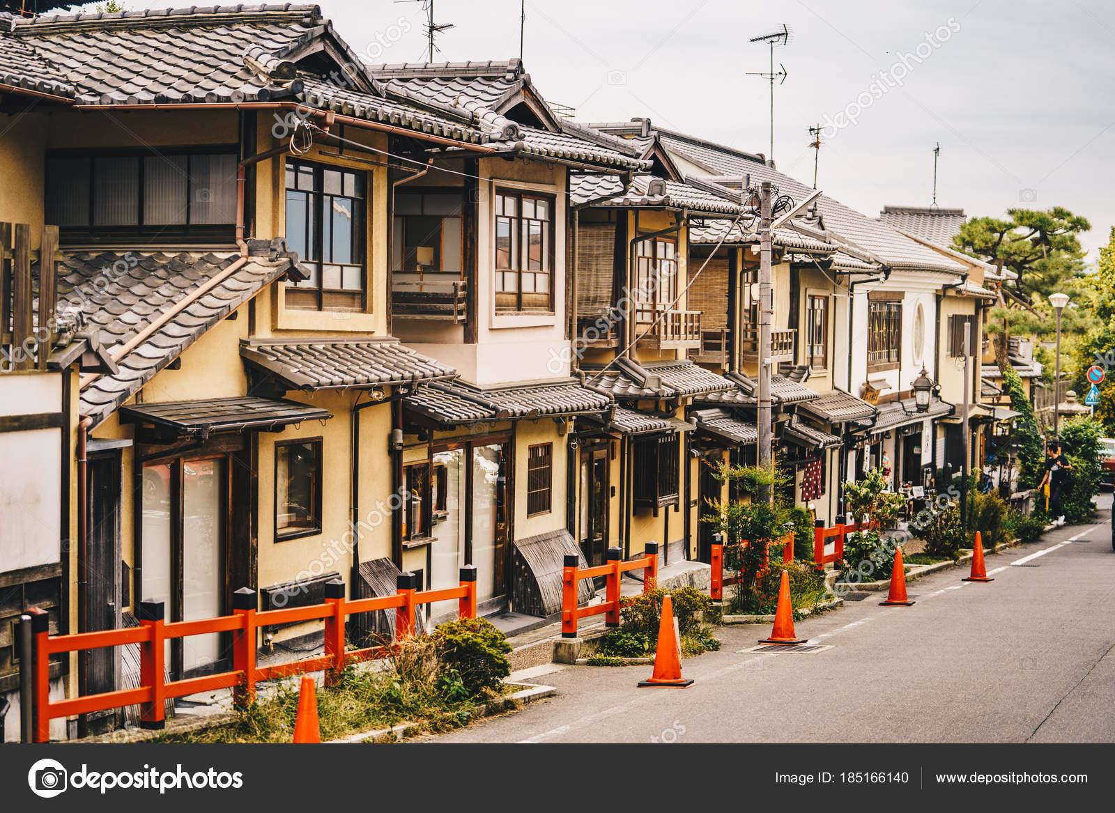 Kyoto traditionelle Häuser im Stadtteil Higashiyama, Japan ...