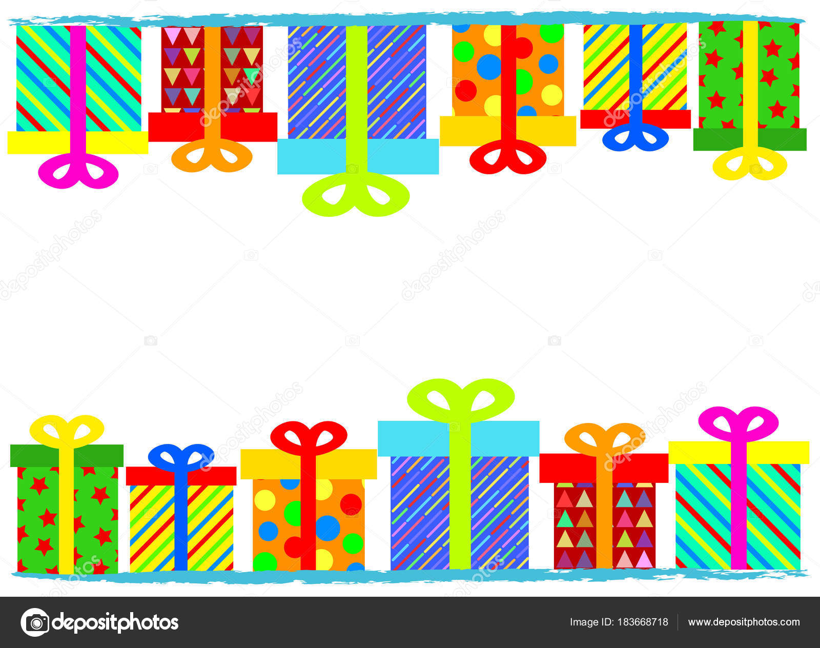 Merry christmas or happy birthday greeting card banner with colo merry christmas or happy birthday greeting card banner with colo stock vector bookmarktalkfo Images