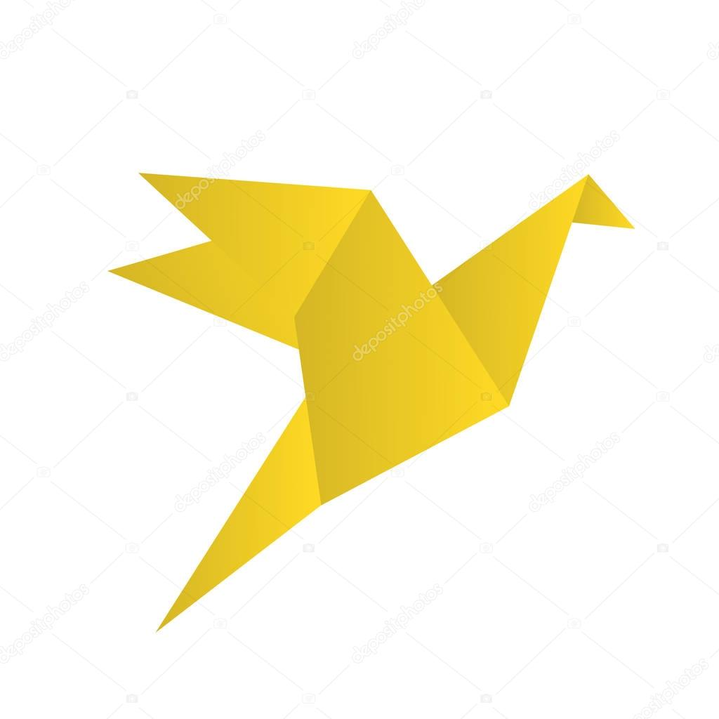 Icons Website Search Over 28444869 Icon Origami Goose Diagrams Bird Crane Isolated On White Stock Vector Illustration
