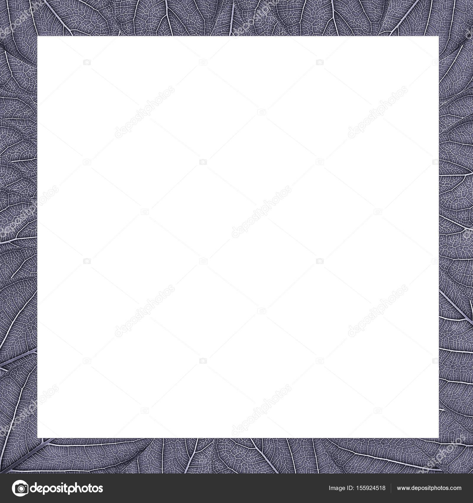 Quadratischer Rahmen Metall Textur lässt sich mit einem weißen ...
