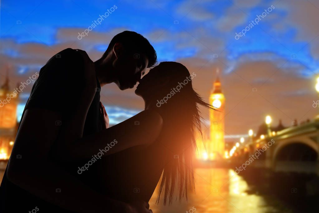 couple with big ben