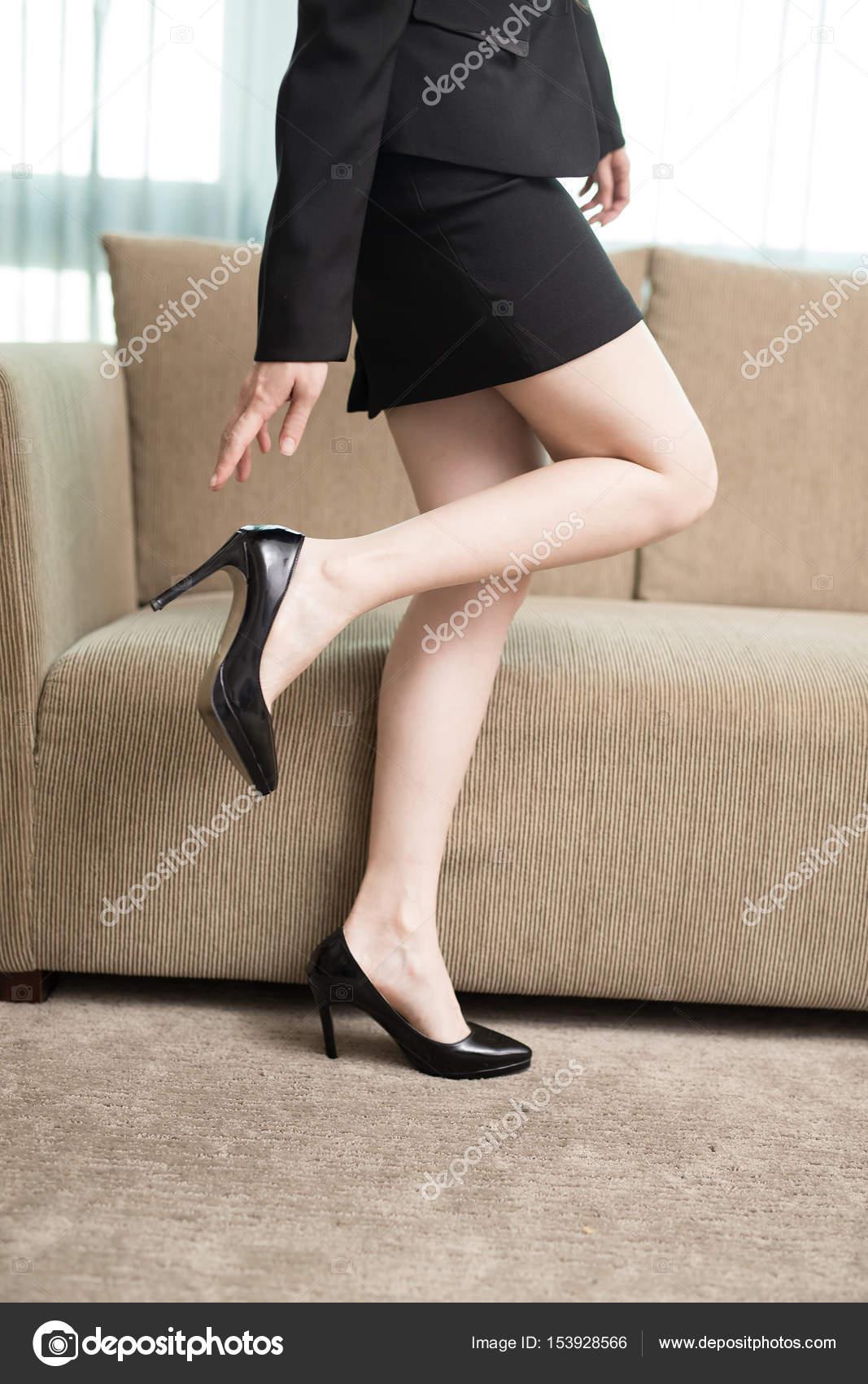 Vrouw Ryanking999153928566 Hakken Kantoor Stockfoto © In Hoge Het Op — Yb6gf7y