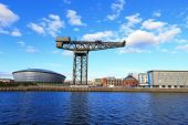 Fotografie Glasgo with the River Clyde