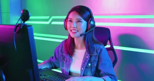Young Asian cyber sport gamer