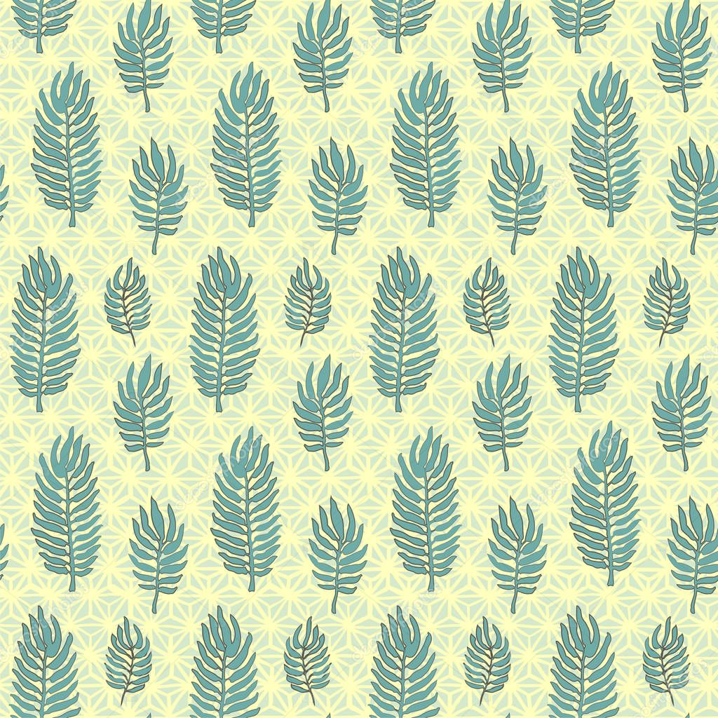 Seamless Pattern With Tropical Leaves And Japanese Hemp Leaf Motif Hand Drawn Print Vector Modern Style Illustration For T Shirt Fabric Wrapping And Wallpaper Design Premium Vector In Adobe Illustrator Ai With folkart motif stencils, you can mix, match, and layer patterns to create your own look. seamless pattern with tropical leaves