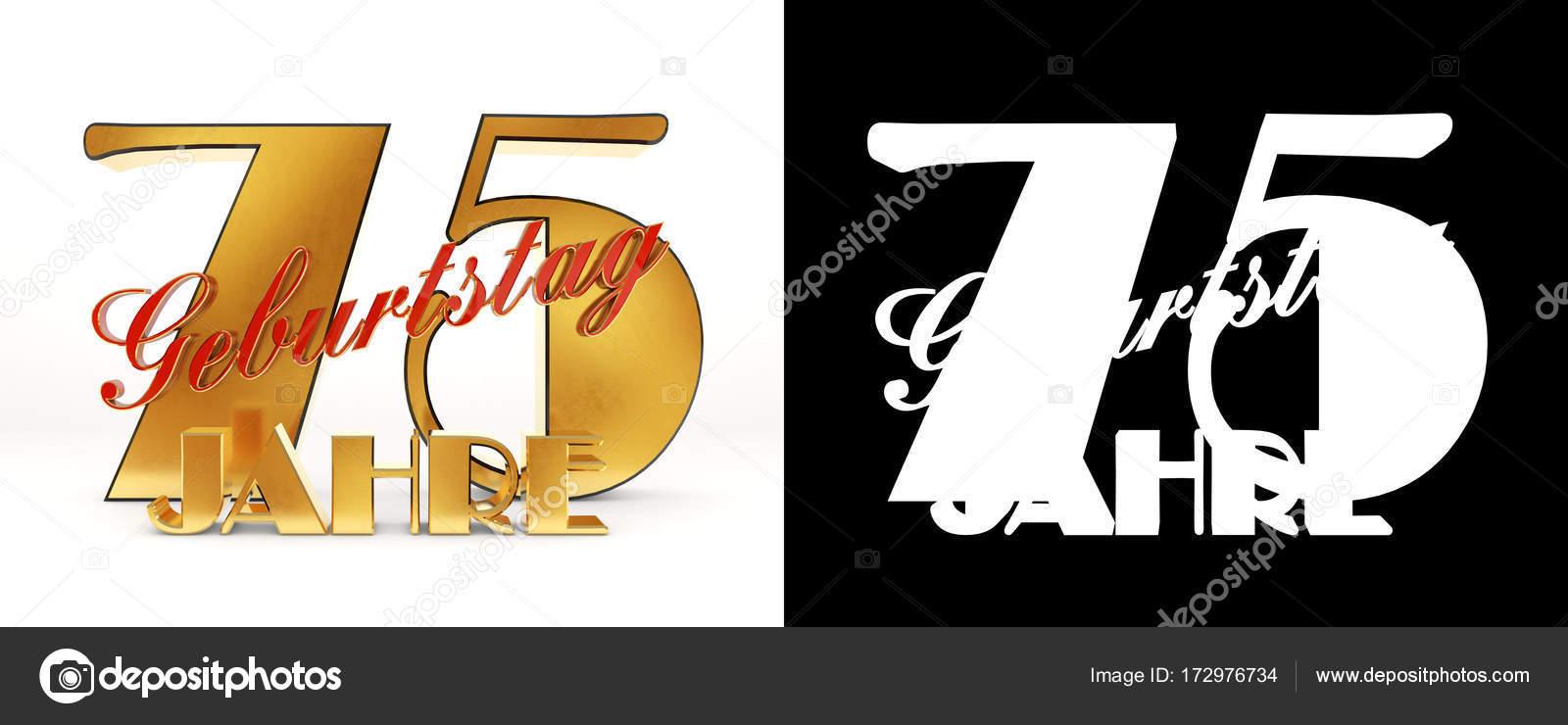 Numero settantacinque (75 anni) celebrazione design. Elementi del