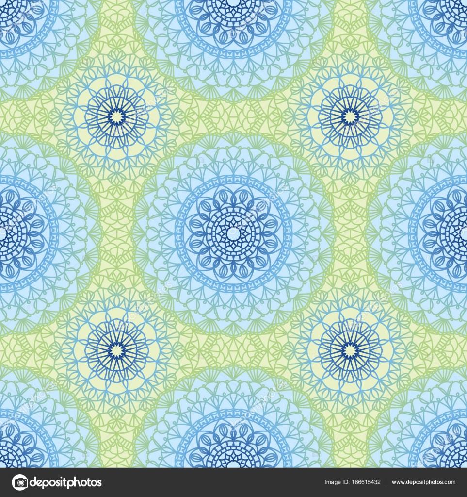 Sin costura crochet patrón — Vector de stock © werta.w #166615432