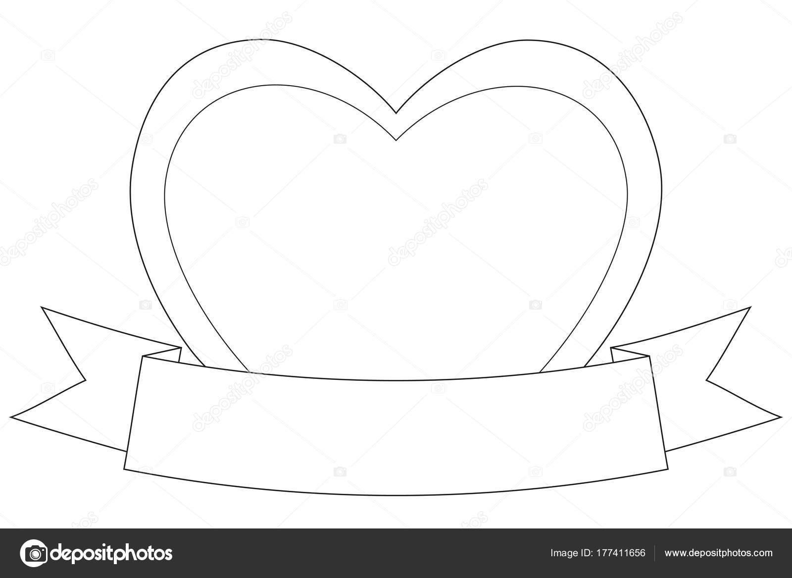 Valentine Tag unter dem Motto schwarz / weiß Poster mit Herz und ...