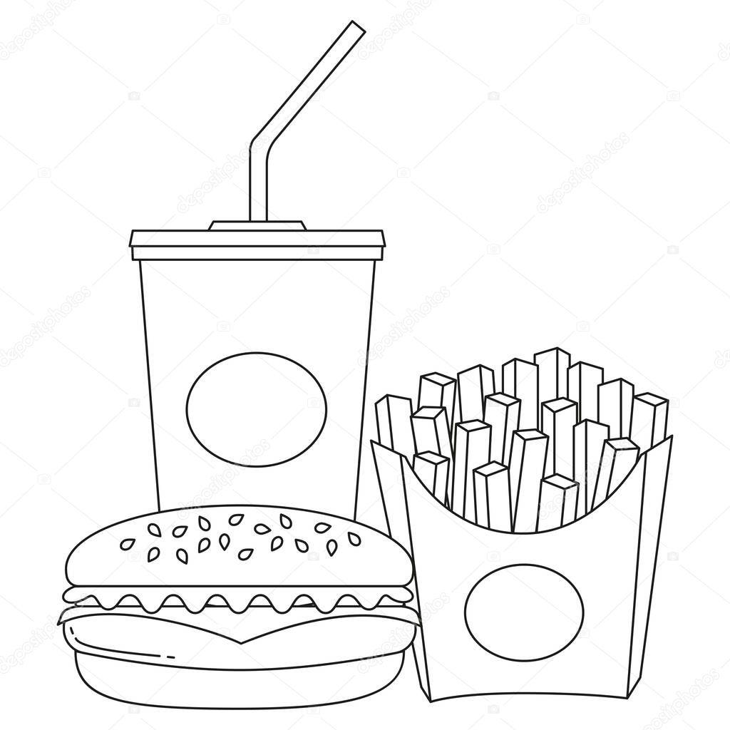 Ziemlich Mcdonalds Pommes Frites Malvorlagen Fotos - Beispiel ...