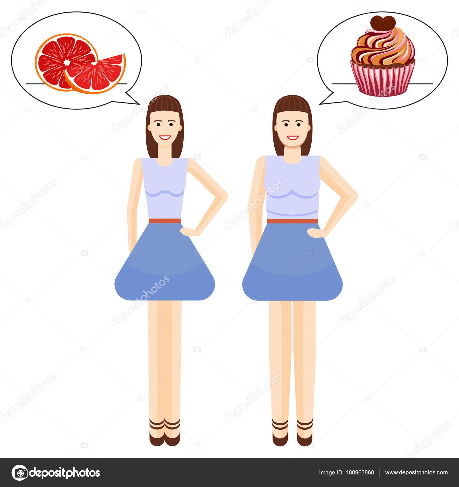 Übergewichtige Körpertypen