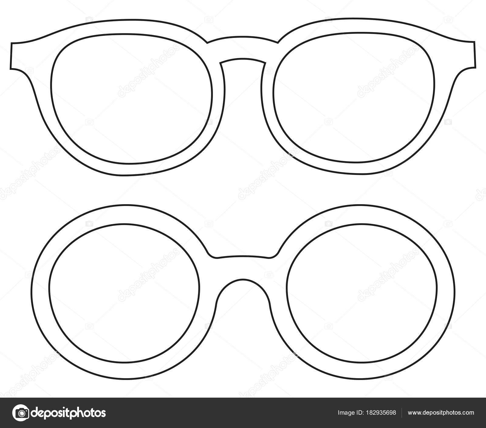 Symbol Linie Kunst Poster Mann Vater Papa Tag Runde Brille Brille