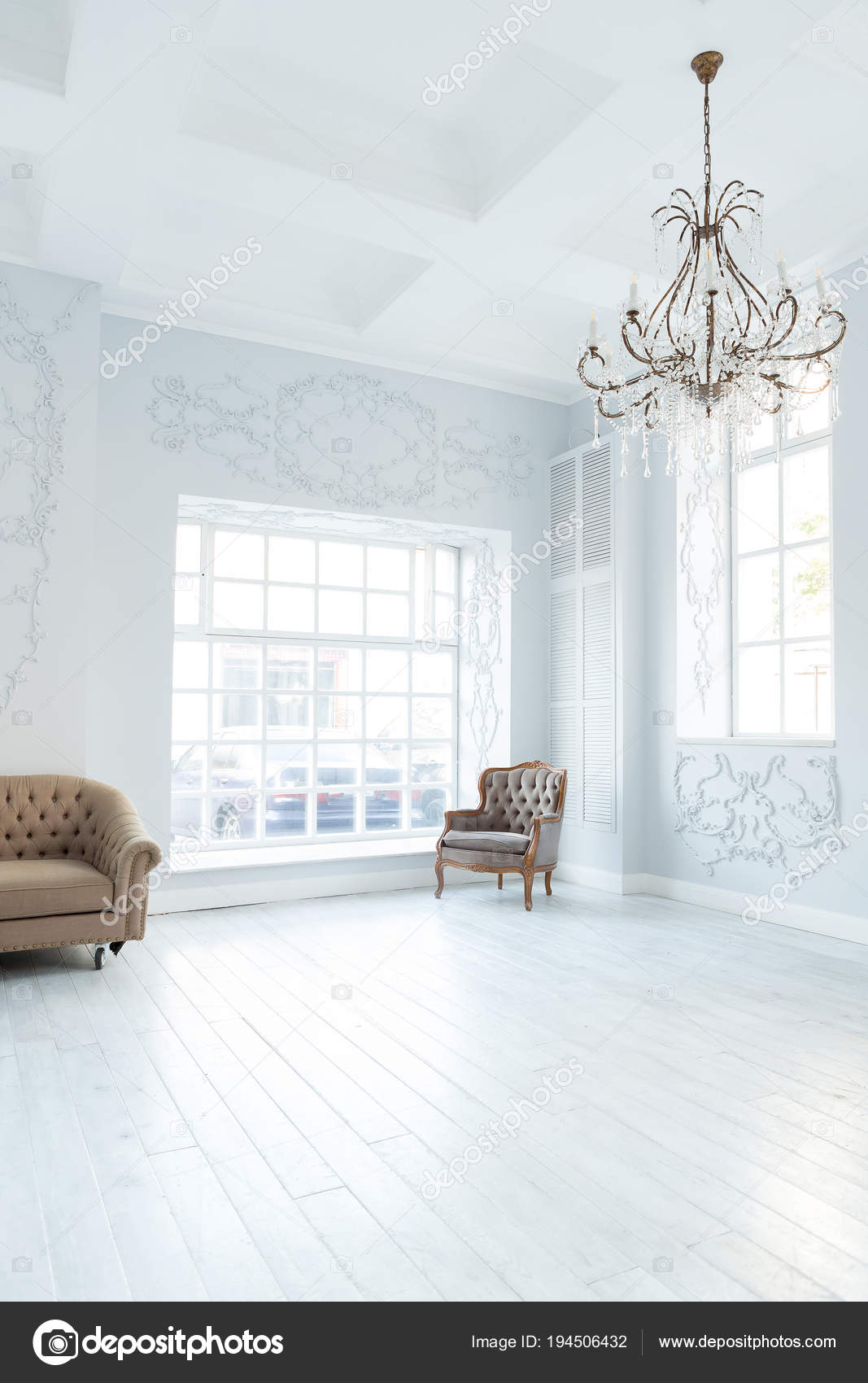 Luxury Rich Living Room Interior Design Elegant Classic Furniture Wall Stock Photo C Nokia Alexnet 194506432