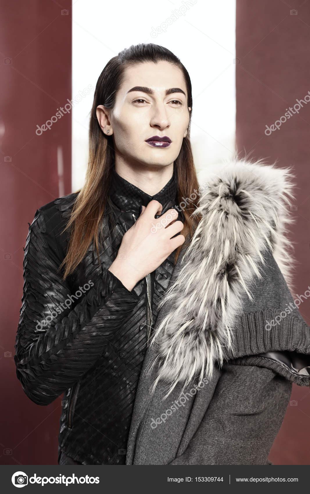 Профессиональный макияж для транссексуалок