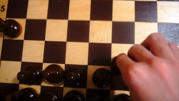 hrát šachy Zpomalený pohyb