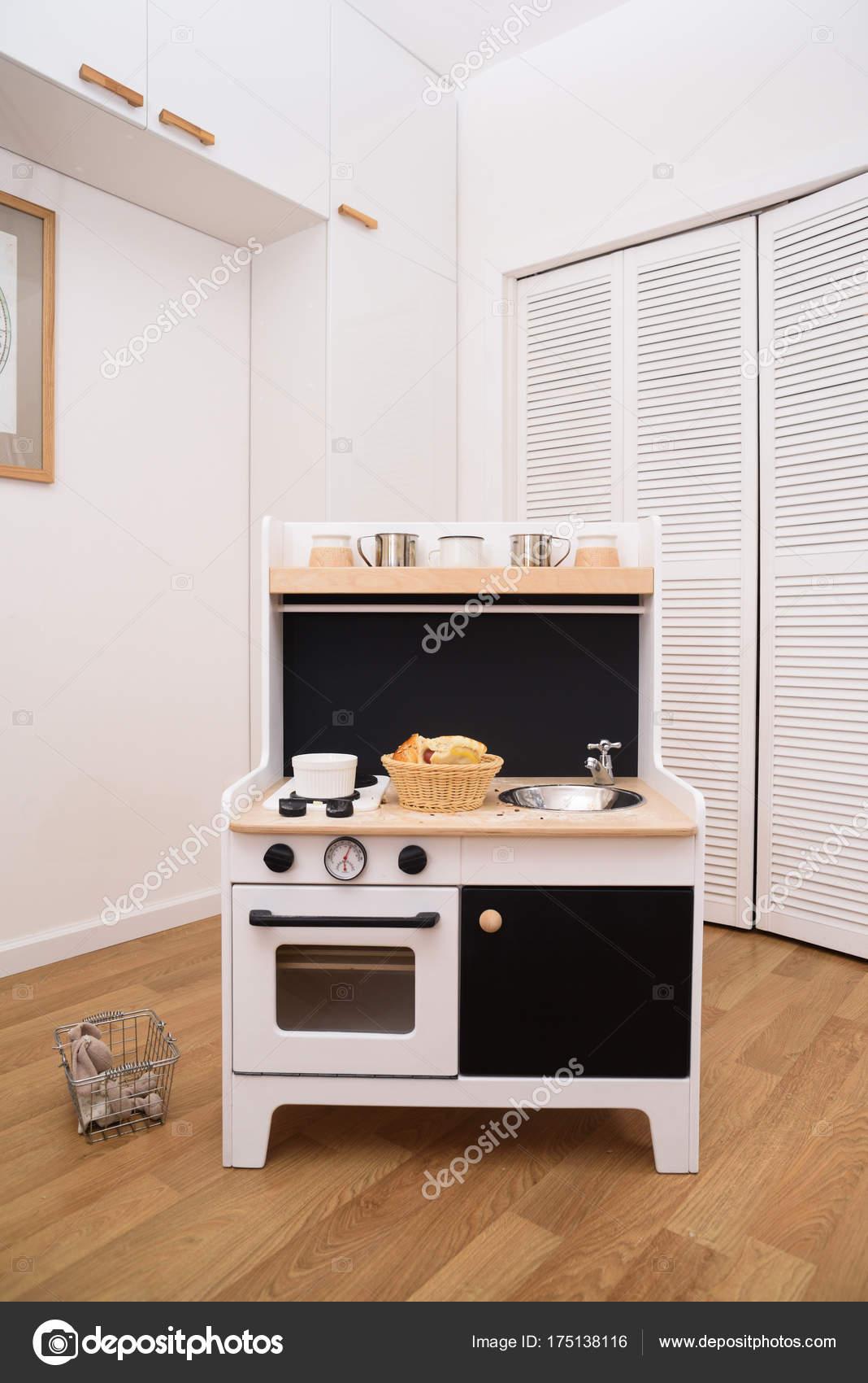 Cozinha De Brinquedo Desenhador Cozinha Preto E Branco Para