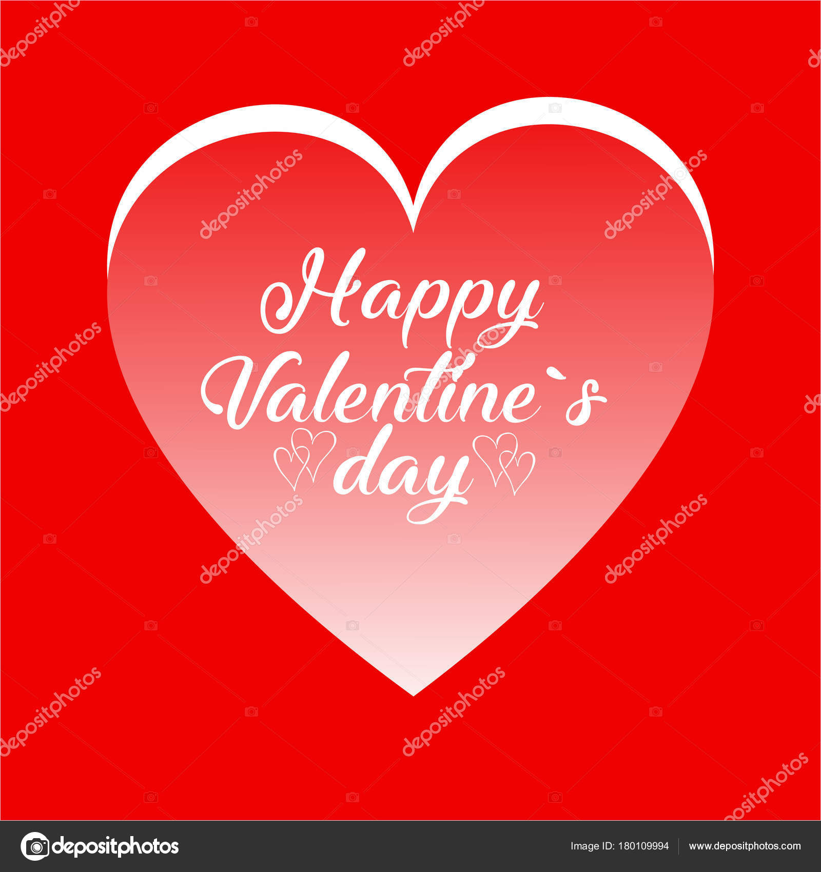 Happy Valentine Day Card Good Greeting Cards Print Design Vector