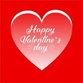 Glückliche Valentinstagskarte. gut für Grußkarten, Druckdesign. Vektorillustration.