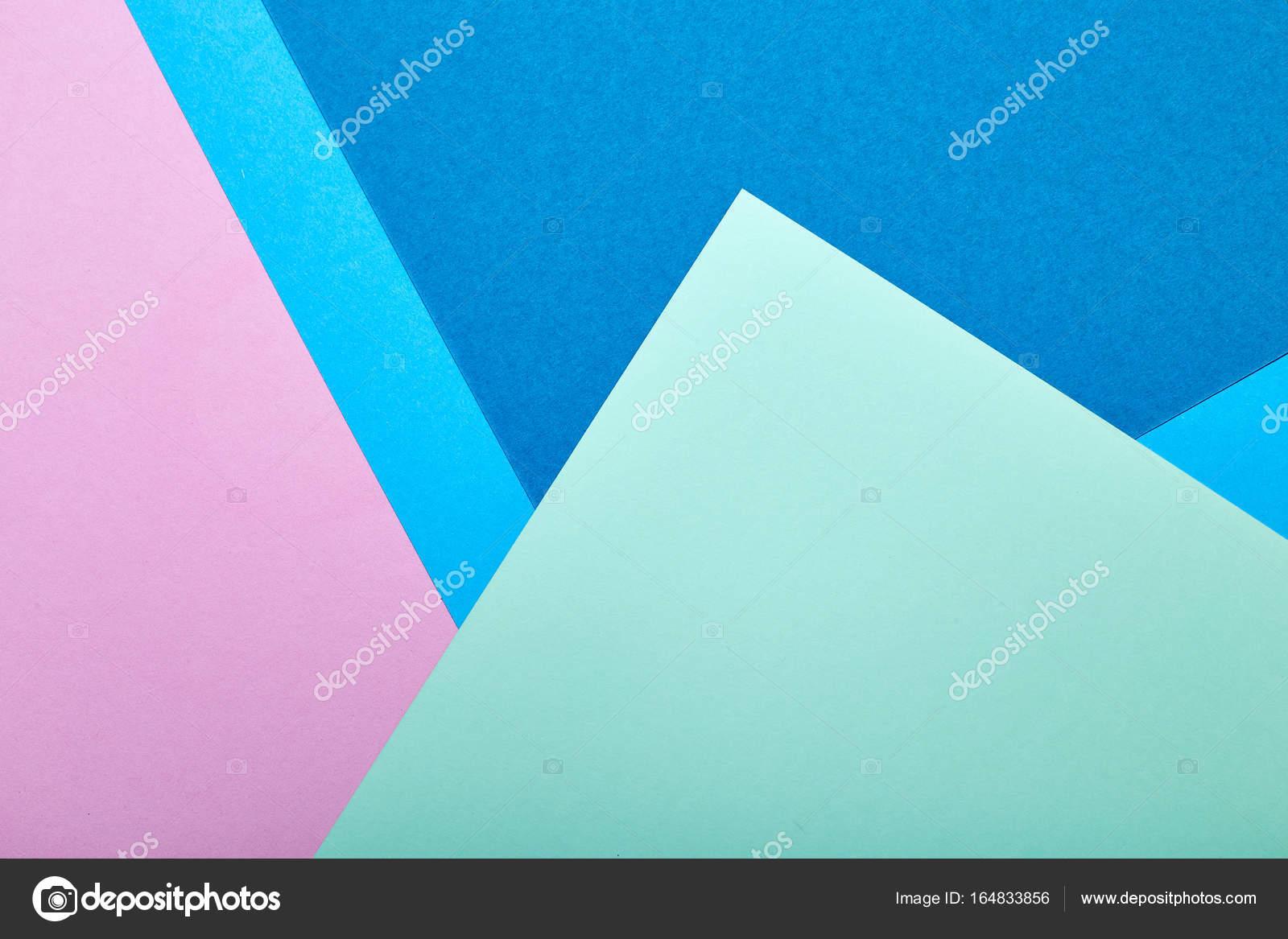 Papel de color abstracto y creativo de papel pastel colorido — Foto ...